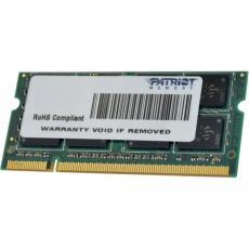 Модуль памяти для ноутбука SoDIMM DDR3 4GB 1333 MHz Patriot (PSD34G13332S)
