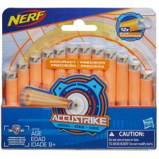Игрушечное оружие Hasbro Nerf Аккустрайк 12 стрел (C0162)