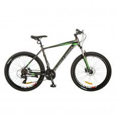"Велосипед Optimabikes 26"" F-1 AM 201714G HDD 19"" Al серо-зеленый (OPS-OP-26-098)"