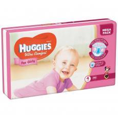 Подгузник Huggies Ultra Comfort 4 Mega для девочек (7-16 кг) 66 шт (5029053543628)