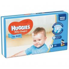 Подгузник Huggies Ultra Comfort 4 Mega для мальчиков (7-16 кг) 66 шт (5029053543611)