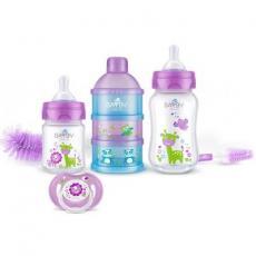 Набор для кормления новорожденных BAYBY 0 мес+ фиолетовый (BGS6200)