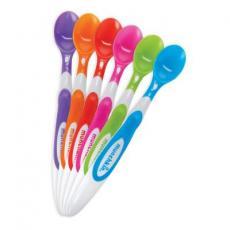 Набор детской посуды Munchkin Ложки мягкие разноцветные 6 шт (01100303)