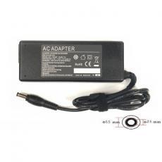 Блок питания к ноутбуку PowerPlant HP 220V, 19V 90W 4.74A (5.5*2.5) (HP90F5525)
