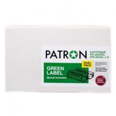 Картридж PATRON HP LJ CE505A/CANON 719 GREEN Label (DUAL PACK) (PN-05A/719DGL)