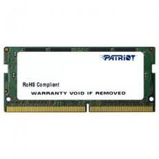 Модуль памяти для ноутбука SoDIMM DDR4 4GB 2400 MHz Patriot (PSD44G240081S)