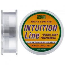 Леска Brain fishing Intuition 50m 0,165 mm #1 2,3 kg 5,1 lb ц.: clear (1858.70.15)