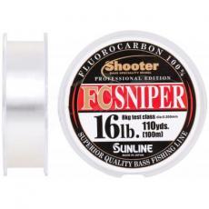 Флюорокарбон Sunline Shooter FC Sniper 100m 0.350mm 8kg (1658.07.39)