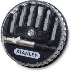Набор бит Stanley биты Sl, Ph, Pz 7шт. + магнитный держатель (1-68-737)