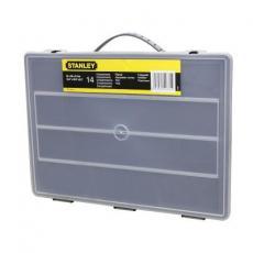 Ящик для инструментов Stanley 160, 14 отделений (340х260х57мм) (1-92-761)
