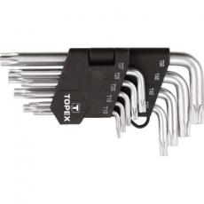 Набор инструментов Topex ключи шестигранные Torx T10-T50, набор 9 шт.*1 уп. (35D960)