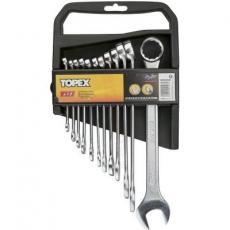 Набор инструментов Topex ключей комбинированных 6-22 мм, 12 шт. (35D375)