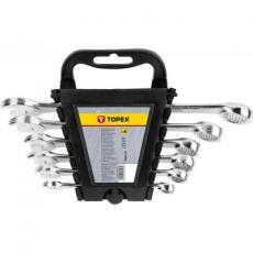 Набор инструментов Topex ключей комбинированных 8-17 мм, 6 шт. (35D397)