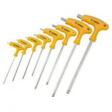 Набор инструментов Topex ключей шестигранных HEX с Т-подобной ручкой, 9 шт. (35D967)