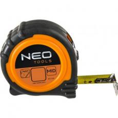 Рулетка NEO стальная лента 8 м x 25 мм, магнит (67-111)