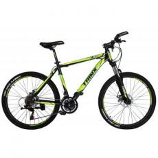"Велосипед Trinx M136 26""х19"" Matt-Black-Green-White (10030018)"