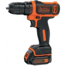 Шуруповерт BLACK&DECKER BDCDD12, 10.8V, 26Нм, Li-Ion (BDCDD12)
