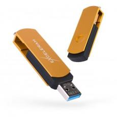 USB флеш накопитель eXceleram 16GB P2 Series Gold/Black USB 2.0 (EXP2U2GOB16)