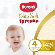 Подгузник Huggies Elite Soft Pants L размер 4 (9-14 кг) Mega 42 шт (5029053547008)