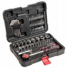 Набор инструментов TOP TOOLS торцевых гаечных ключей 3/8, 63 ед. (38D515)
