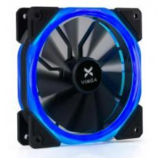 Кулер для корпуса Vinga LED fan-02 blue