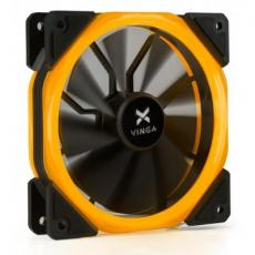 Кулер для корпуса Vinga LED fan-02 orange