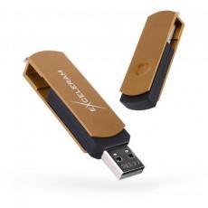 USB флеш накопитель eXceleram 16GB P2 Series Brown/Black USB 2.0 (EXP2U2BRB16)