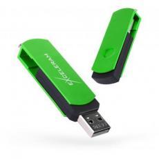USB флеш накопитель eXceleram 16GB P2 Series Green/Black USB 2.0 (EXP2U2GRB16)