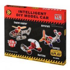 Конструктор Same Toy Inteligent DIY Model Car 3в1 117 эл. (58042Ut)