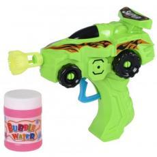 Мыльные пузыри Same Toy Bubble Gun Машинка зеленый (803Ut-1)