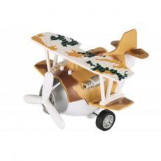 Спецтехника Same Toy Самолет металический инерционный Aircraft коричневый (SY8016AUt-3)