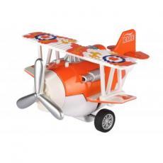 Спецтехника Same Toy Самолет металический инерционный Aircraft оранжевый (SY8013AUt-1)