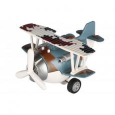 Спецтехника Same Toy Самолет металический инерционный Aircraft синий (SY8016AUt-4)