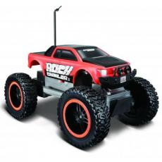Автомобиль Maisto Rock Crawler Jr. (81162 red/black)
