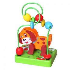 Развивающая игрушка Viga Toys Мини-лабиринт Собачка (59662)