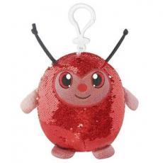 Мягкая игрушка SHIMMEEZ Симпатичная божья коровка на клипсе 9 см (SMZ01000L)
