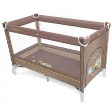 Детский манеж Baby Design Simple бежевый (20408)
