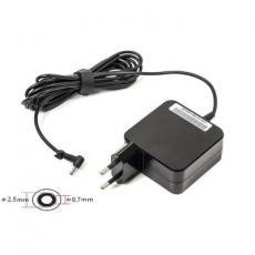 Блок питания к ноутбуку PowerPlant ASUS 220V, 19V 40W 2.1A (2.5*0.7) wall mount (WM-AS40F2507)