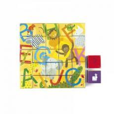 Кубики Janod Алфавит (картонные) (J02993)