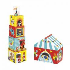 Кубики Janod Цирк (картонные) (J02800)