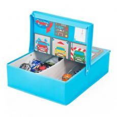 Ящик для игрушек Pop-it-Up игровой Гараж 40x50x14 см (F2PBI14045)