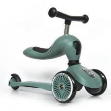 Скутер Scoot&Ride Highwaykick-1 Серо-зеленый (SR-160629-FOREST)