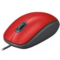 Мышка Logitech M110 Silent Red (910-005489)