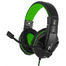 Наушники GEMIX N20 Black-Green Gaming