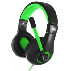 Наушники GEMIX N3 Black-Green Gaming