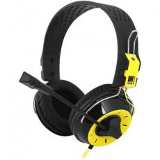 Наушники GEMIX N4 Black-Yellow Gaming