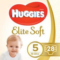 Подгузник Huggies Elite Soft 5 (12-22 кг) Jumbo 28 шт (5029053547794)