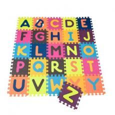 Детский коврик Battat пазл ABC (140х140 см) (BX1210Z)
