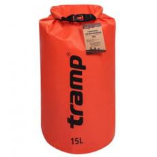 Гермомешок Tramp PVC Diamond Rip-Stop 15л оранжевый (TRA-112-orange)
