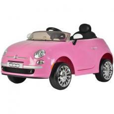 Электромобиль BabyHit Fiat Z651R Pink (71142)